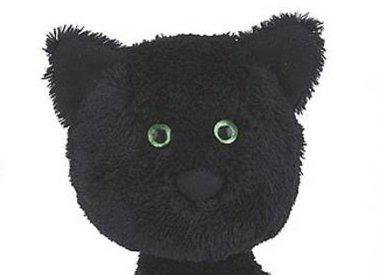 Black soft toys