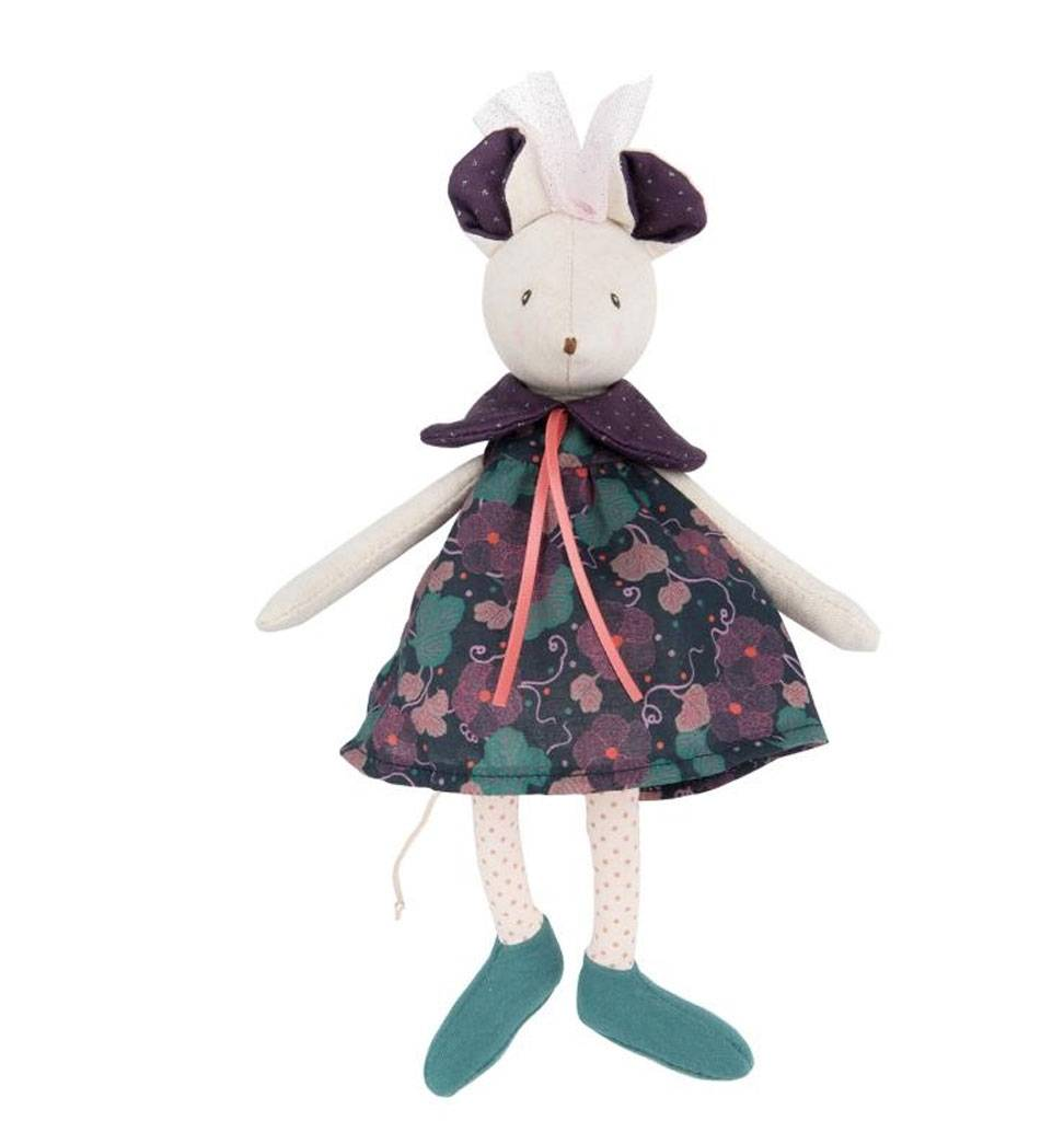 Moulin Roty Sissi knuffelmuis Moulin Roty 24 cm