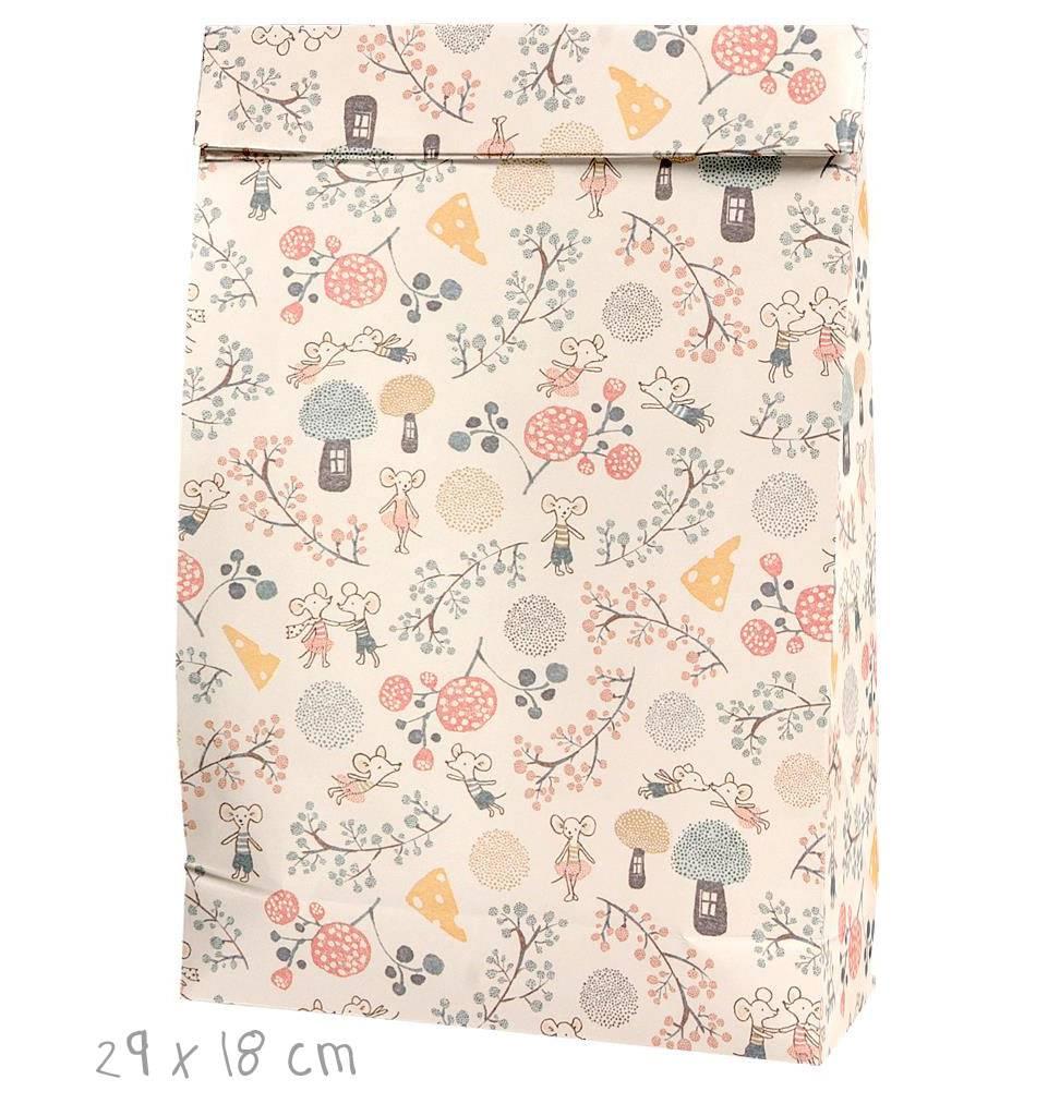Maileg gift bag Mice Party Maileg 29 x 18 cm