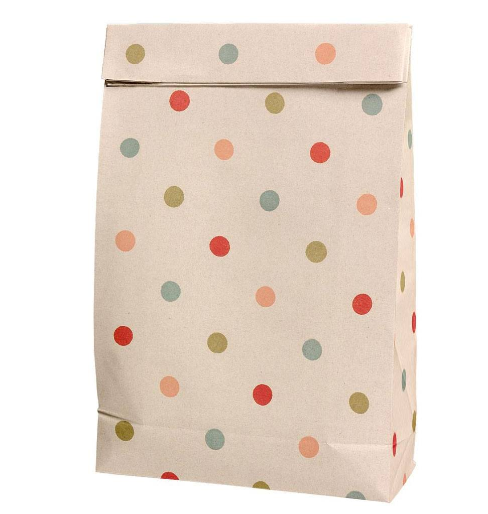 Maileg gift bag dots Maileg 29 x 18 cm