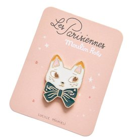 Moulin Roty brooch cat 'Les Parisiennes' Moulin Roty