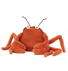 Jellycat knuffels Jellycat Crispin krab