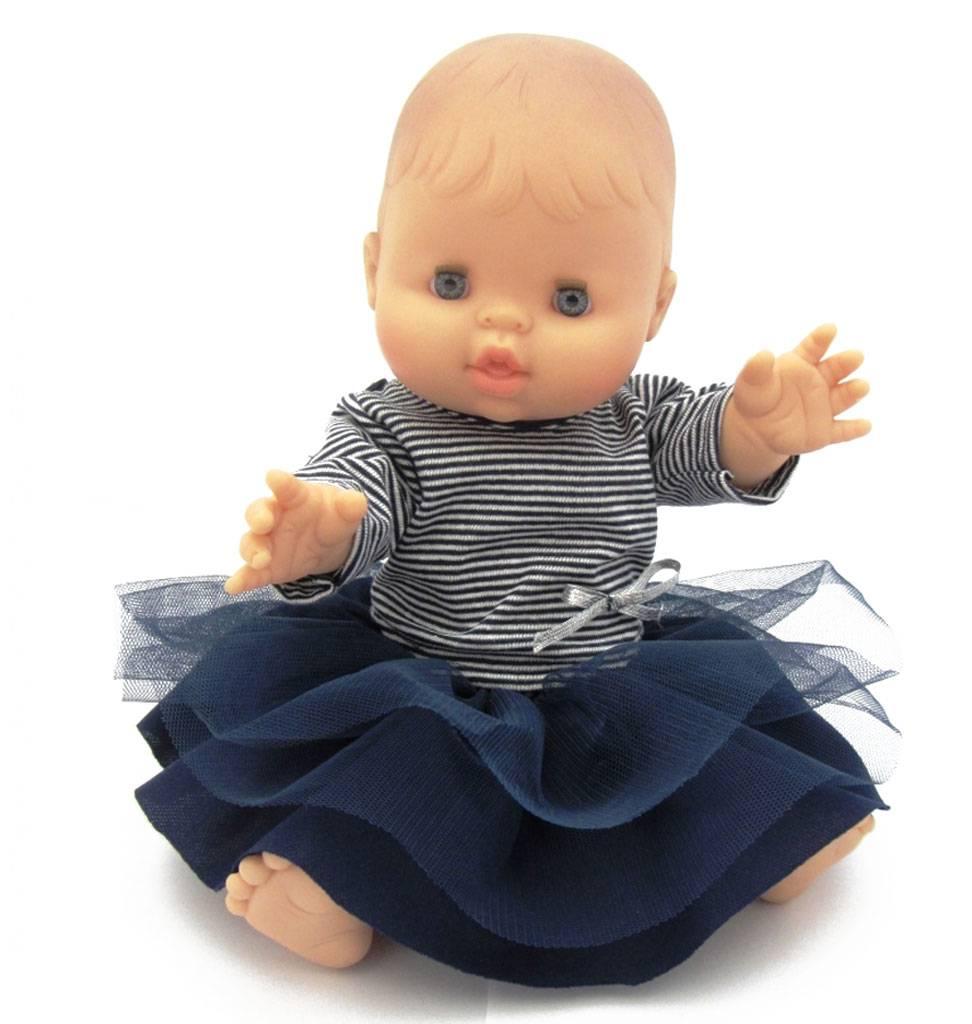 Paola Reina poppen Paola Reina babypop Bretons meisje 34 cm
