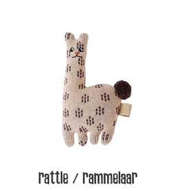 OYOY Rattle lama OYOY mini 16 cm