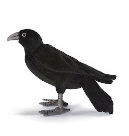 Hansa knuffels Black crow Hansa 31 cm