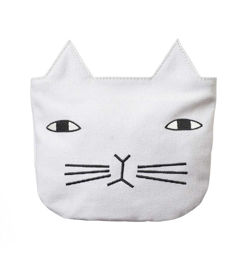 Donna Wilson Donna Wilson cat pouch / make-up bag