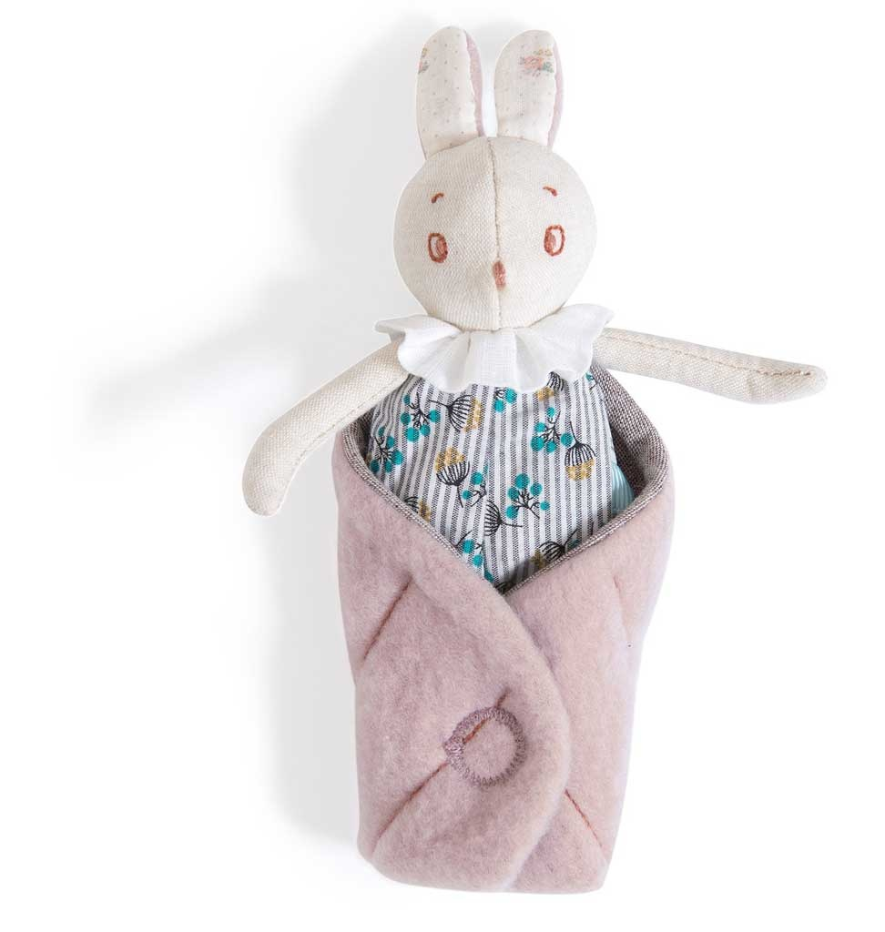 Moulin Roty Rabbit Mousse in a box Moulin Roty 16 cm