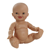 Paola Reina poppen Paola Reina / Minikane babypop Gordi meisje lachend  34 cm