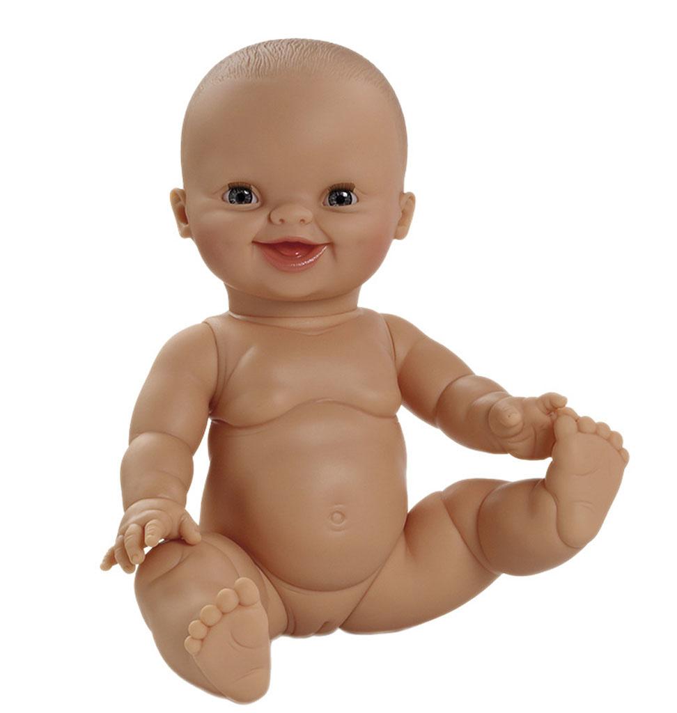 Paola Reina poppen Paola Reina / Minikane Babypuppe Gordi lächelndes Mädchen 34 cm