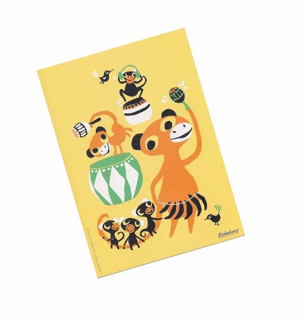 "Littlephant Postkarte ""Bongo"""