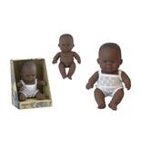 Miniland poppen Miniland babypop Afrikaans jongen 21 cm