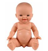 Paola Reina poppen Paola Reina / Minikane babypop Gordi jongen lachend  34 cm
