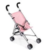 Poppenwagen buggy roze voor o.a. de Gordi babypoppen van Paola Reina