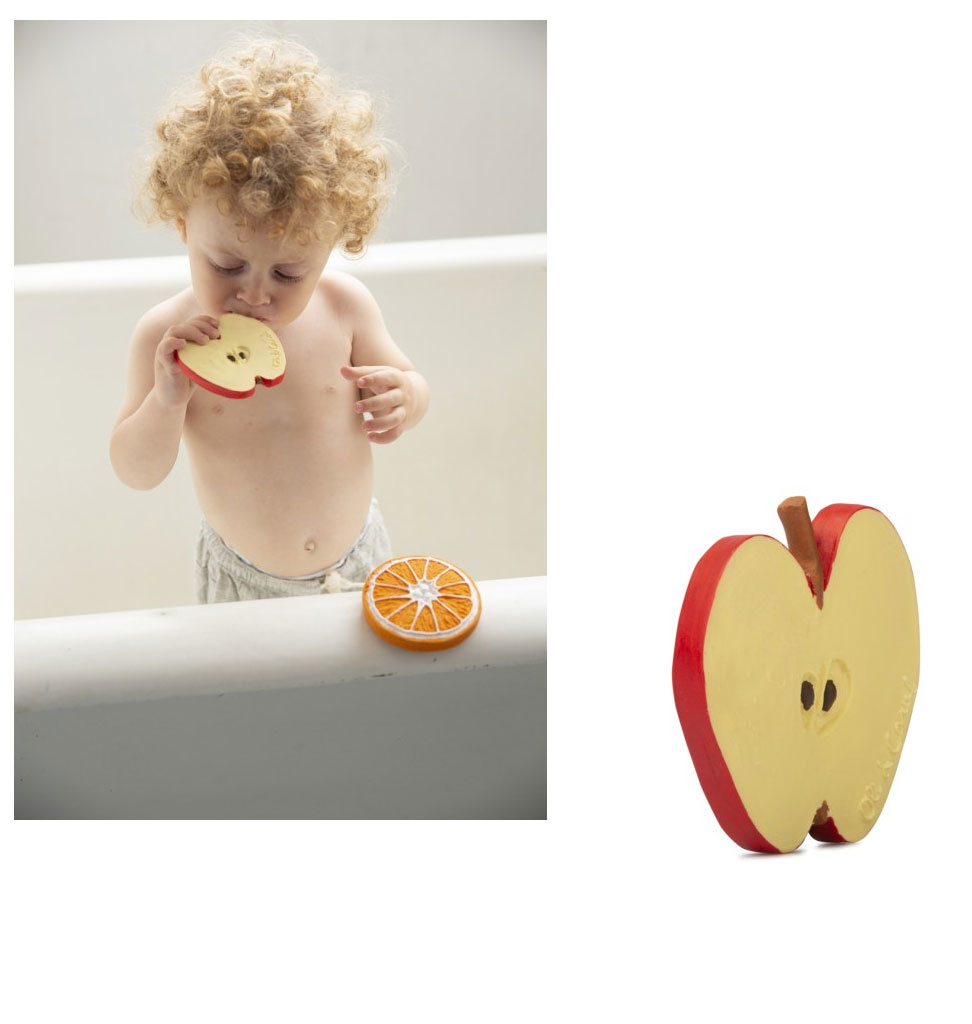 Oli & Carol Pepita apple from Oli & Carol baby bath toy