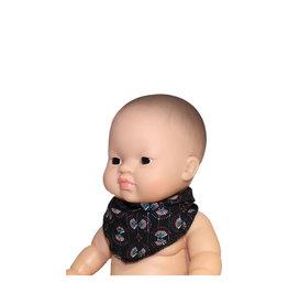 Minikane  Minikane Bandana India Noir für Gordi Puppen