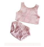 Paola Reina poppen Paola Reina baby Gordi ondergoedset roze