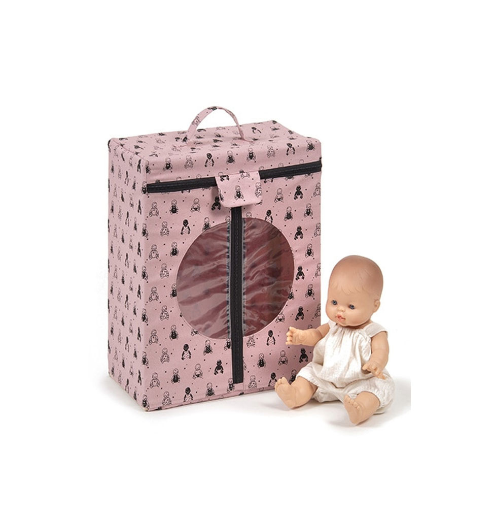 Minikane  Minikane kledingkast roze voor poppenkleding