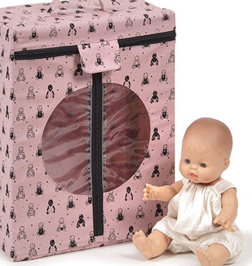 Minikane  Minikane rosa Kleiderschrank für Puppenkleider