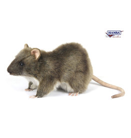 Hansa brown rat 19 cm