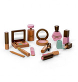 By Astrup   Wood make-up set by By Astrup for Minikane
