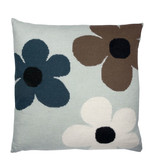 Luckyboysunday Luckyboysunday Lucky Flower cushion mint 50 x 50 cm
