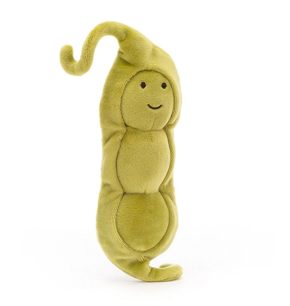 Jellycat knuffels Jellycat Vivacious Gemüseerbse