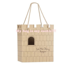 Maileg cardboard castle bag