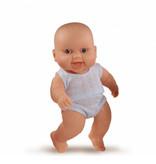 Paola Reina poppen Paola Reina Peque Boy Puppe mit Unterwäsche 22 cm