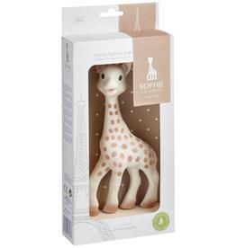 Vulli Sophie die Giraffe groß in eine Geschenkbox