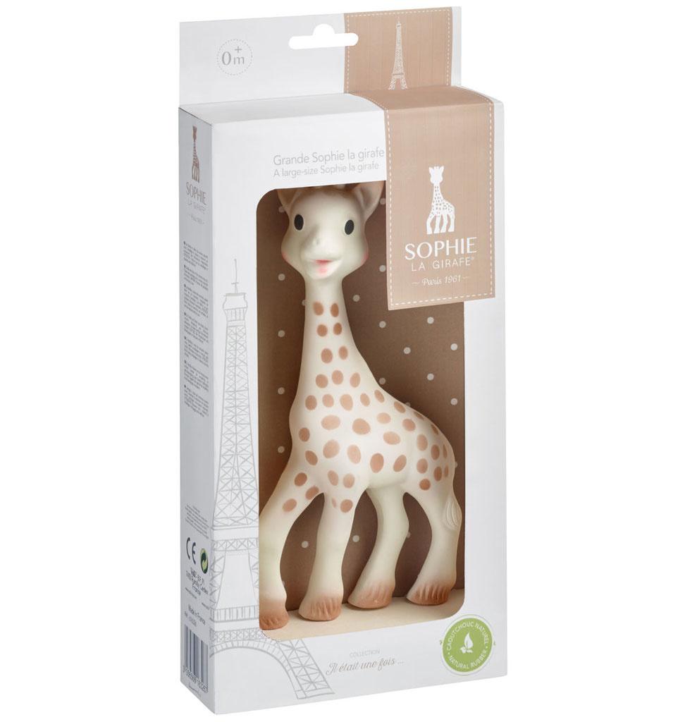 Sophie la girafe / Vulli Vulli  Sophie die Giraffe groß in eine Geschenkbox 21 cm