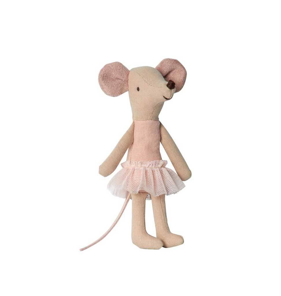 Maileg Maileg Ballerina mouse Little Sister 10 cm