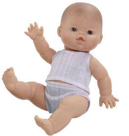 Paola Reina poppen Paola Reina Gordi Babypuppenjunge mit Unterwäsche