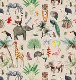 Cadeaupapier Jungle / dieren