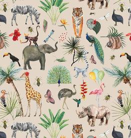 Geschenkpapier  Tiere