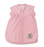 Doll sleeping bag light pink 45 cm