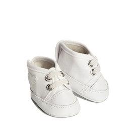 Skrållan Skrållan witte sneakers (past op Gordi poppen)