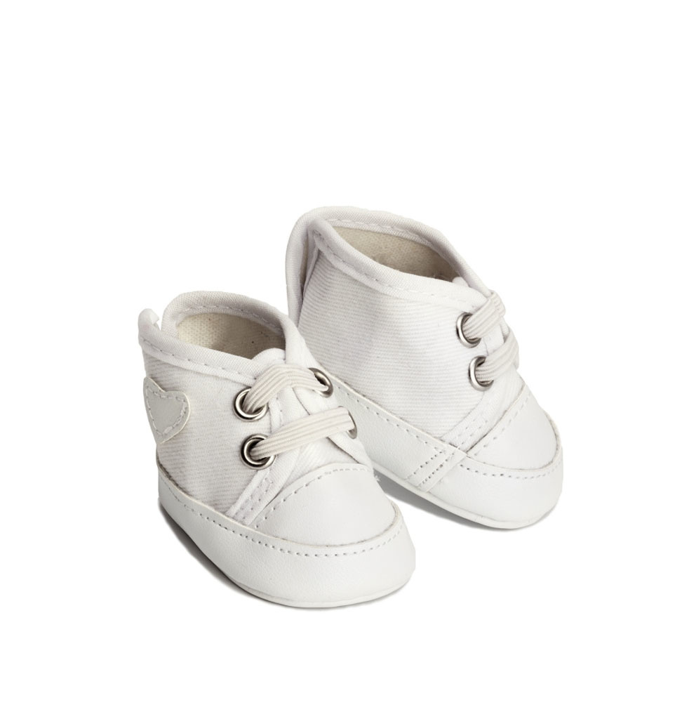Skrållan Skrållan white sneakers (fits Gordi dolls)