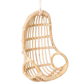 Poppie Toys Doll hanging chair rattan egg chair