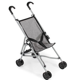 Doll pram buggy gray