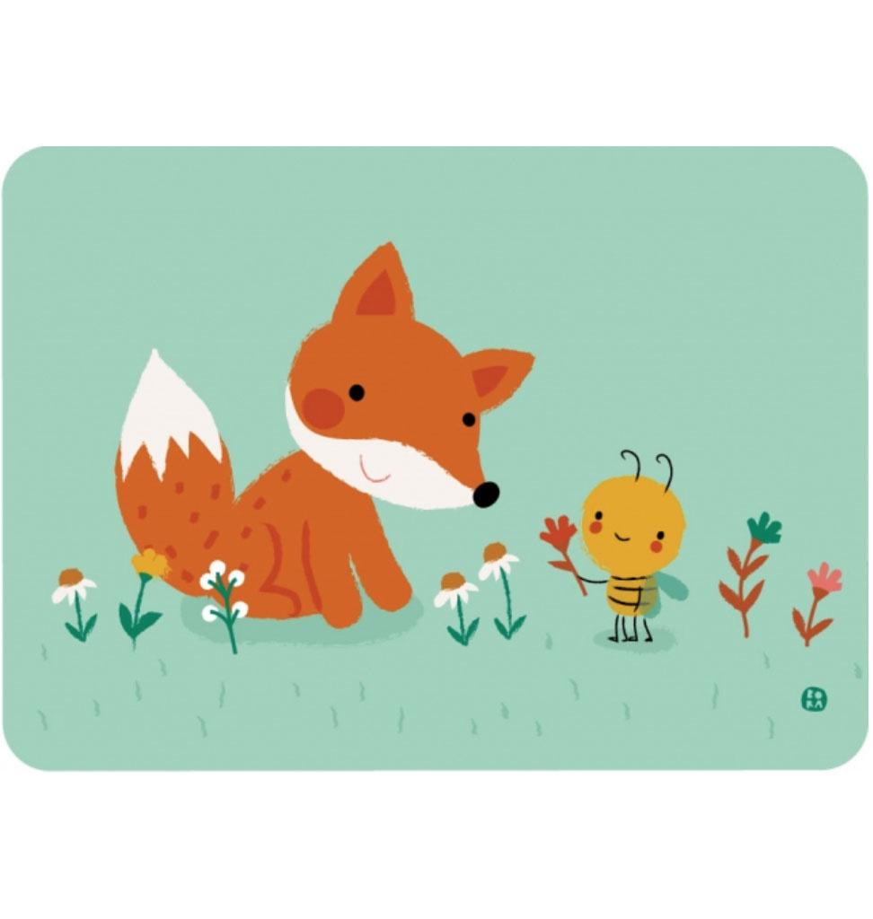 By-Bora Bora card fox