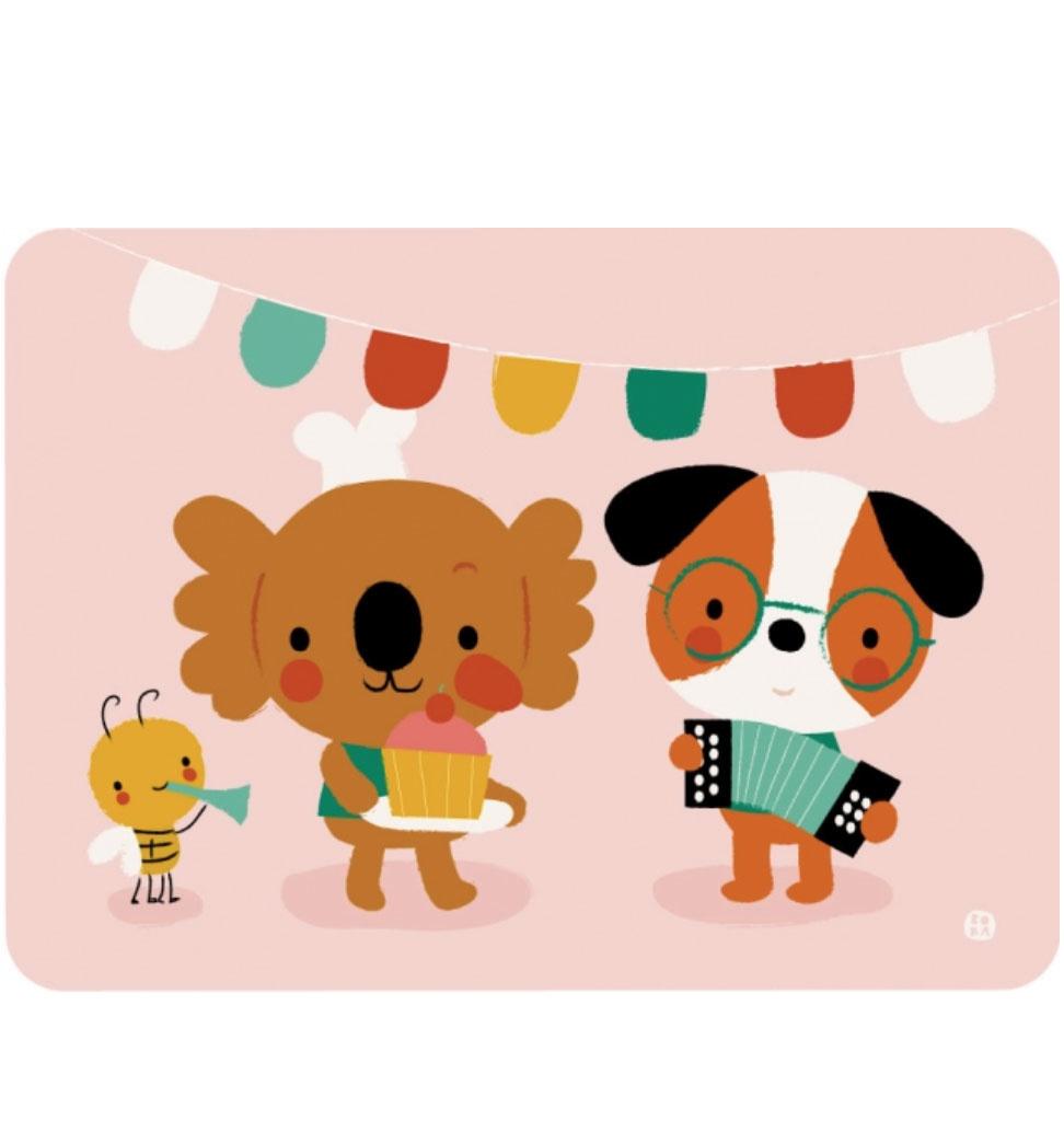 By-Bora Bora Karte Cupcake