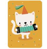 By-Bora Bora Karte Katze