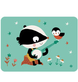 By-Bora Bora kaart badger