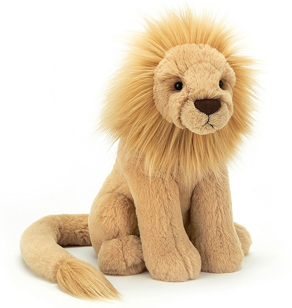 Jellycat knuffels Jellycat Leonardo lion medium
