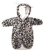 Emil Schwenk poppenkleding Poppen onesie luipaard  mt 36-40cm