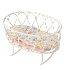 Maileg Maileg rocking cradle with bedding