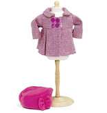 By Astrup / Mini Mommy  Chic coat with hat for Paola Reina's Gordi dolls