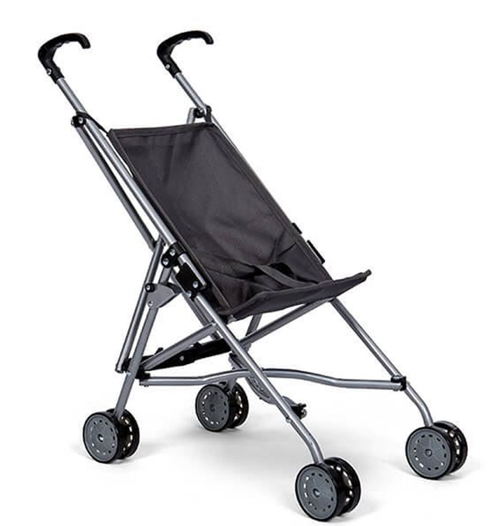 By Astrup   Doll buggy gray for the Gordi baby dolls from Paola Reina