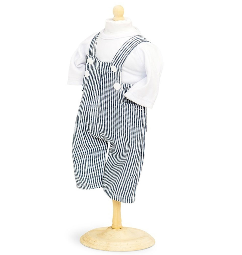 By Astrup   t-shirt and salopette for Gordi doll size 33-37