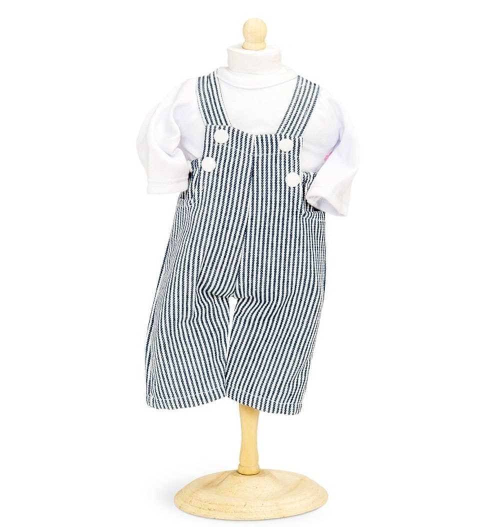 By Astrup / Mini Mommy  t-shirt and salopette for Gordi doll size 33-37